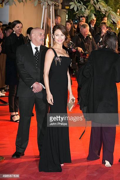 Olga Kurylenko attends the British Fashion Awards 2015 at London Coliseum on November 23 2015 in London England