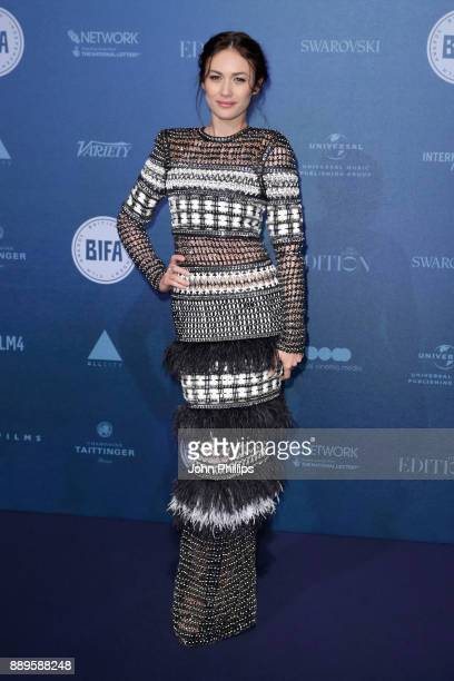 Olga Kurylenko attends the British Independent Film Awards held at Old Billingsgate on December 10 2017 in London England