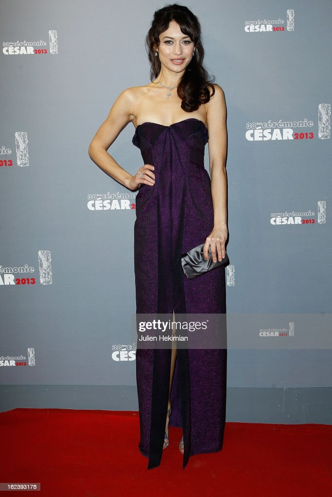 Olga Kurylenko attends the Cesar Film Awards 2013 at Theatre du Chatelet on February 22, 2013 in Paris, France.