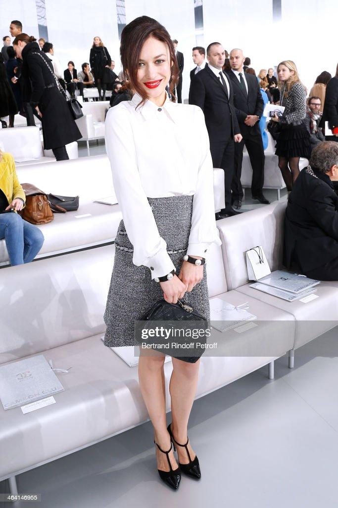 Chanel : Front Row - Paris Fashion Week - Haute Couture S/S 2014
