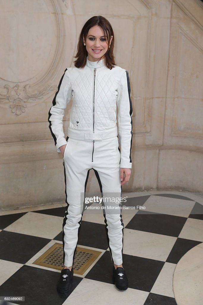 Olga Kurylenko attends the Christian Dior Haute Couture Spring Summer 2017 show as part of Paris Fashion Week on January 23, 2017 in Paris, France.