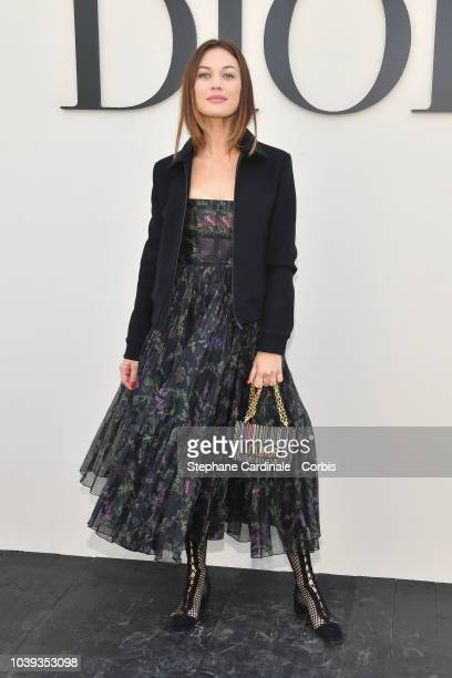 Olga Kurylenko attends the Christian Dior show as part of the Paris Fashion Week Womenswear Spring/Summer 2019 on September 24 2018 in Paris France