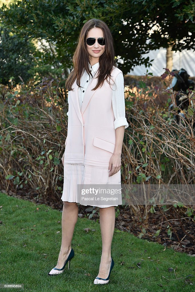 Christian Dior : Outside Arrivals - Paris Fashion Week - Haute Couture Spring Summer 2016