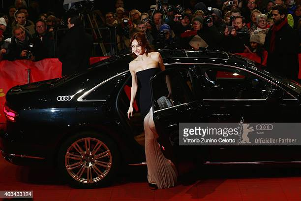 Olga Kurylenko attends the Closing Ceremony of the 65th Berlinale International Film Festival at Berlinale Palace on February 14, 2015 in Berlin,...