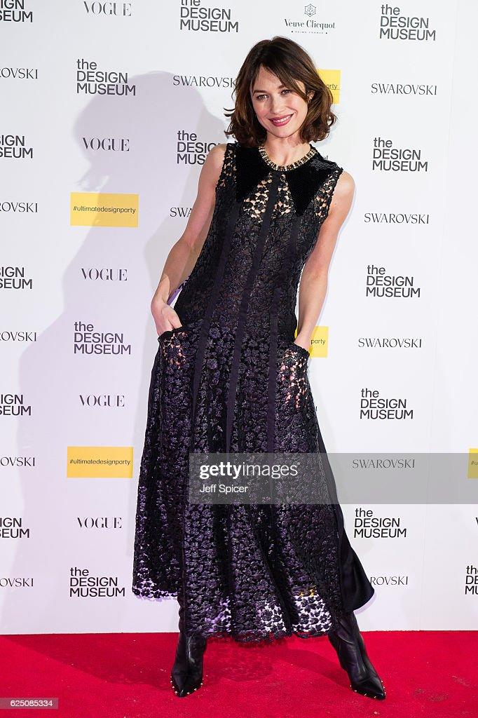 Olga Kurylenko attends The Design Museum VIP launch on November 22, 2016 in London, United Kingdom.
