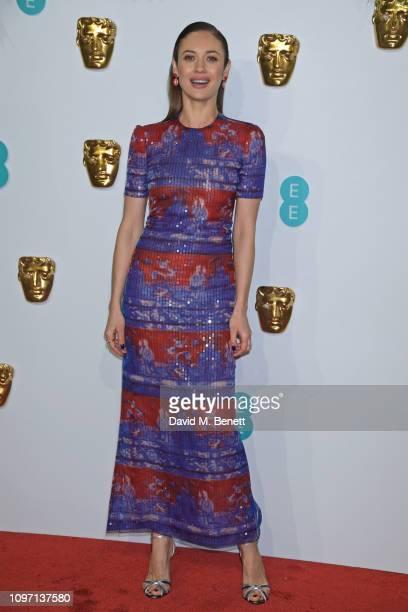 Olga Kurylenko attends the EE British Academy Film Awards at Royal Albert Hall on February 10, 2019 in London, England.