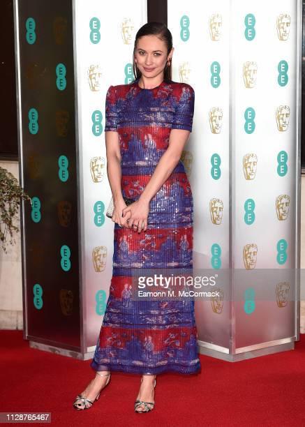 Olga Kurylenko attends the EE British Academy Film Awards Gala Dinner at Grosvenor House on February 10, 2019 in London, England.