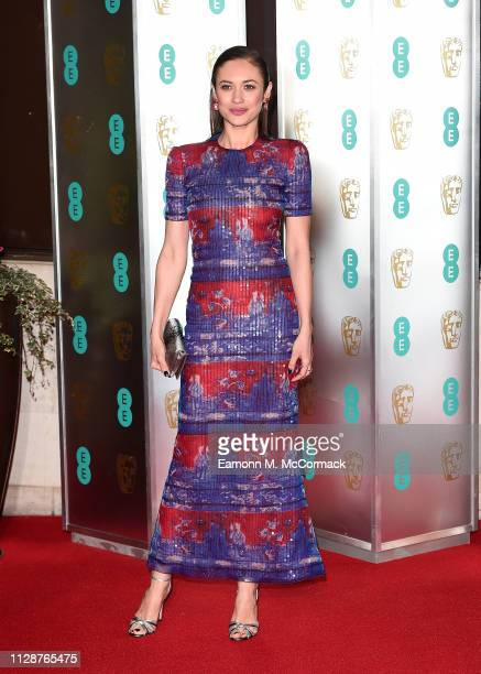 Olga Kurylenko attends the EE British Academy Film Awards Gala Dinner at Grosvenor House on February 10 2019 in London England