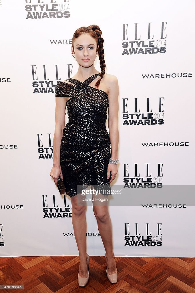 Olga Kurylenko attends the Elle Style Awards 2014 at one Embankment on February 18, 2014 in London, England.