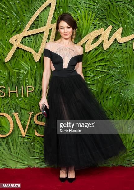 Olga Kurylenko attends The Fashion Awards 2017 in partnership with Swarovski at Royal Albert Hall on December 4 2017 in London England