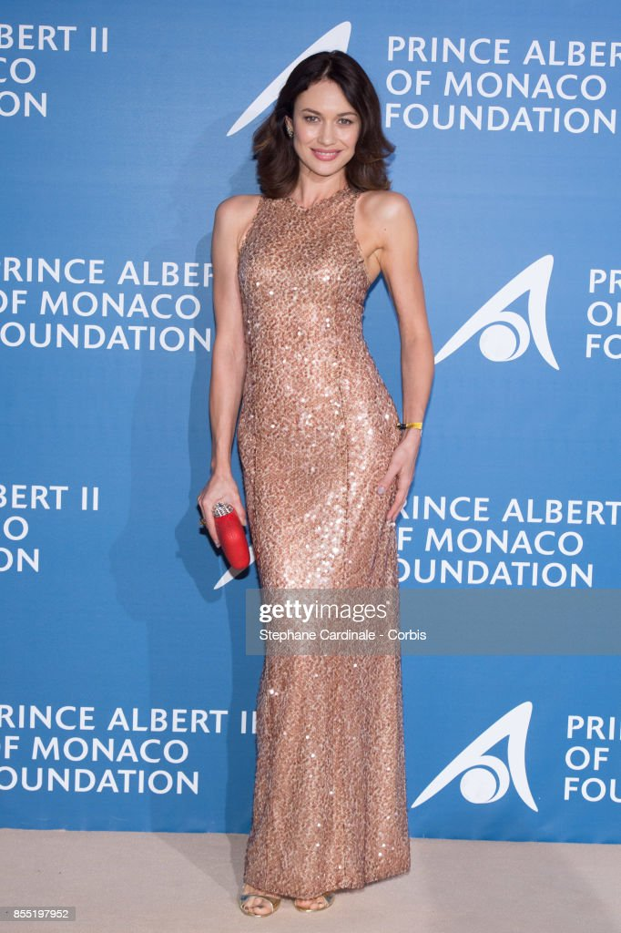 Olga Kurylenko attends the Inaugural 'Monte-Carlo Gala For The Global Ocean' Honoring Leonardo DiCaprio At The Monaco Garnier Opera At The Monaco Garnier Operaat Opera Garnier on September 28, 2017 in Monaco, Monaco.