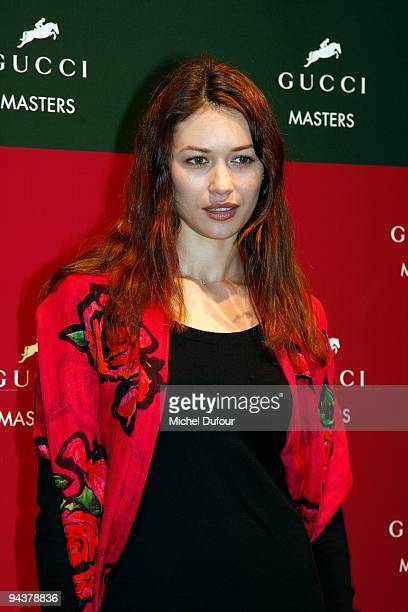Olga Kurylenko attends the International Gucci Masters Competition - Day 4 at Paris Nord Villepinte on December 13, 2009 in Paris, France.