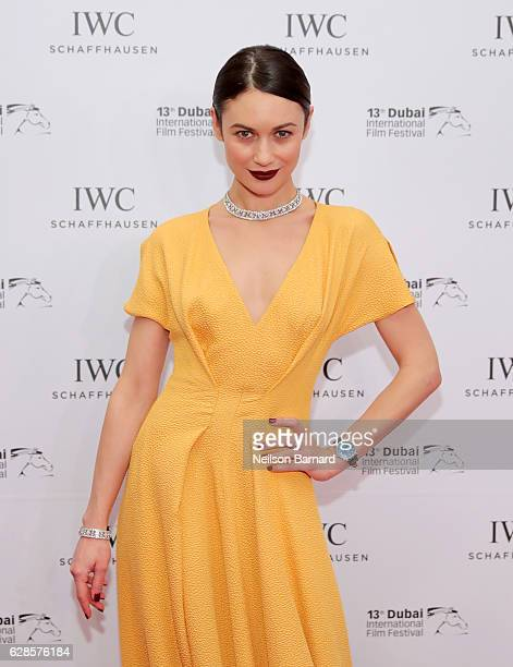 Olga Kurylenko attends the IWC Filmmaker Award during day two of the 13th annual Dubai International Film Festival held at the One and Only Hotel on...