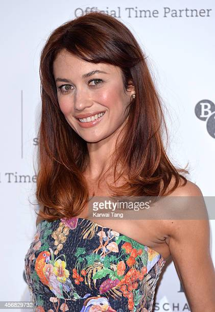 Olga Kurylenko attends the IWC Gala dinner in honour of the BFI at Battersea Evolution on October 7 2014 in London England