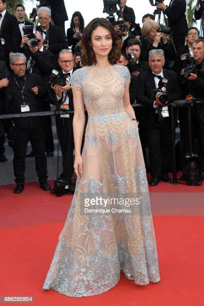 Olga Kurylenko attends 'The Meyerowitz Stories' premiere during the 70th annual Cannes Film Festival at Palais des Festivals on May 21 2017 in Cannes...