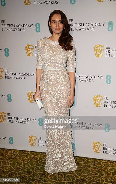 Olga Kurylenko attends the official After Party Dinner for the EE British Academy Film Awards at The Grosvenor House Hotel on February 14 2016 in...