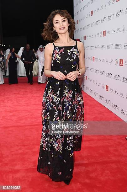 Olga Kurylenko attends the Opening Night Gala during day one of the 13th annual Dubai International Film Festival held at the Madinat Jumeriah...