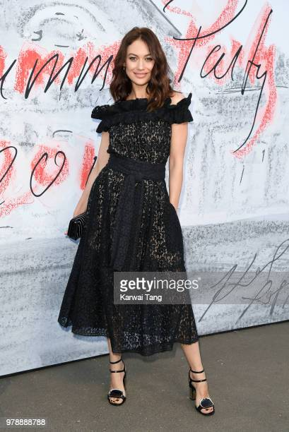 Olga Kurylenko attends the Serpentine Gallery Summer Party at The Serpentine Gallery on June 19 2018 in London England