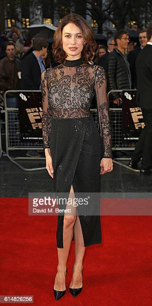 Olga Kurylenko attends the 'Snowden' Headline Gala screening during the 60th BFI London Film Festival at Odeon Leicester Square on October 15 2016 in...