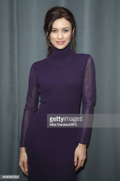 Olga Kurylenko attends the Temperley London show during London Fashion Week September 2017 on September 17 2017 in London England