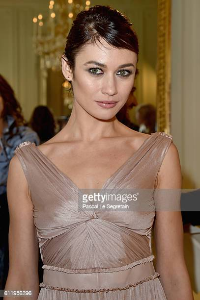 Olga Kurylenko attends the Valentino show as part of the Paris Fashion Week Womenswear Spring/Summer 2017 on October 2 2016 in Paris France
