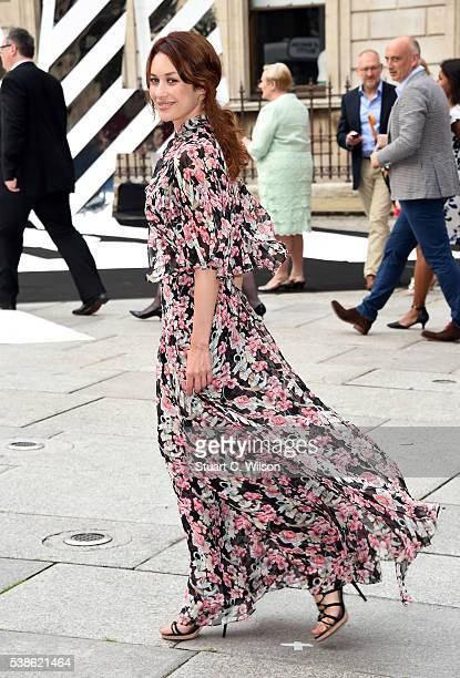Olga Kurylenko attends the VIP preview of the Royal Academy of Arts Summer Exhibition 2016 at Royal Academy of Arts on June 7 2016 in London England