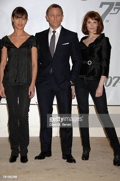 The 22th James Bond Film Photocall Stock Photos And Pictures