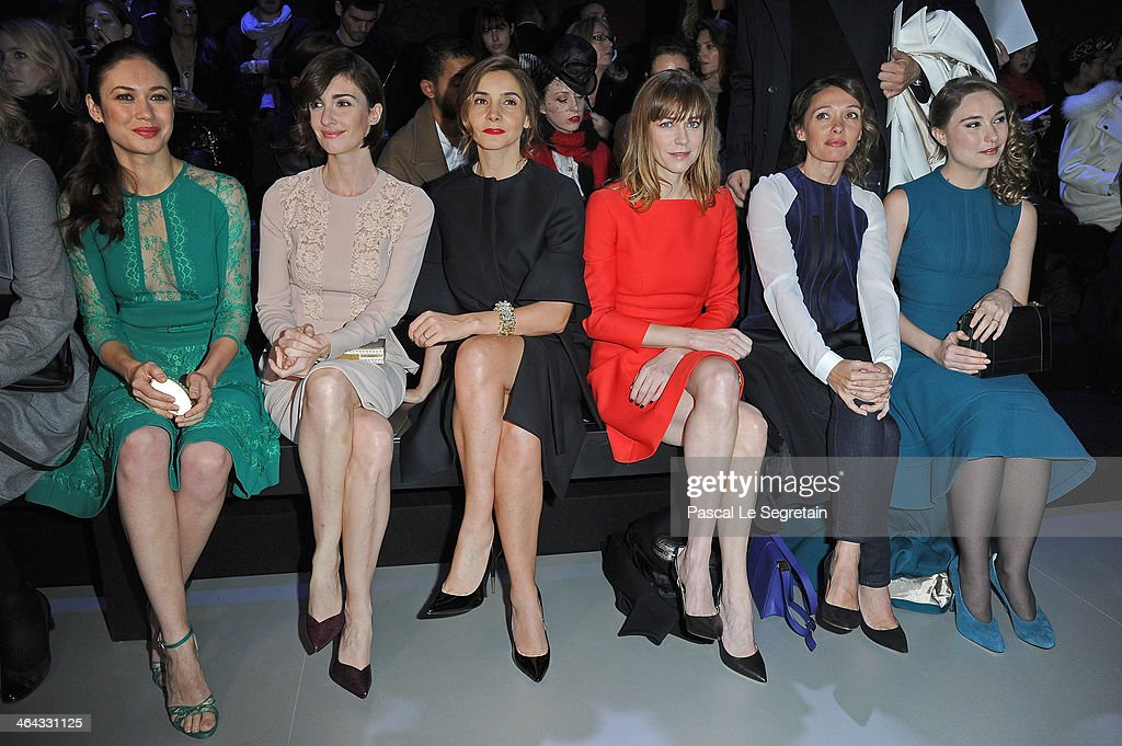 Elie Saab : Front Row - Paris Fashion Week - Haute Couture S/S 2014