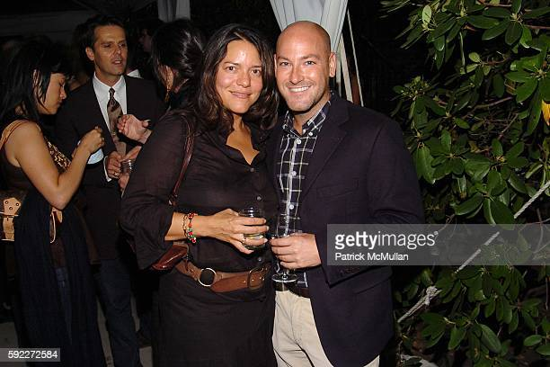 Olga Liriano and Patrick Ryan attend TARGET hosts the THOMAS O'BRIEN Vintage Modern Launch Event at The Admiral's House on Governor's Island on...