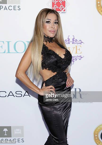 Olga Loera attends A Mary Christmas Party at The Albert Elkouby Estate on December 1 2016 in Beverly Hills California