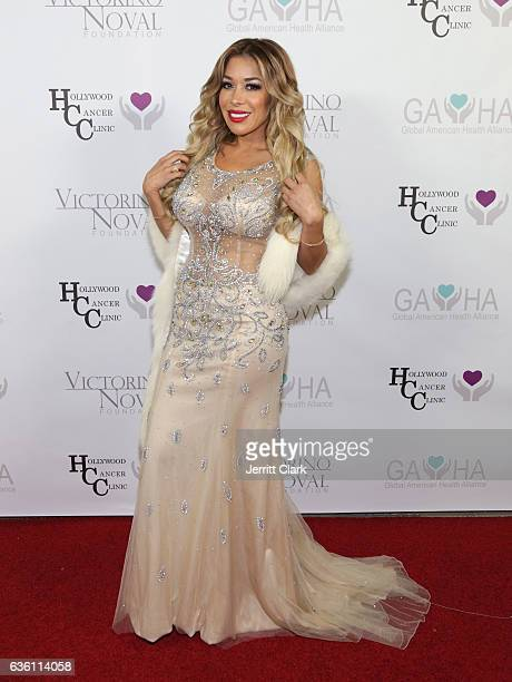Olga Loera attends the Victorino Noval Foundation Christmas Party on December 17 2016 in Beverly Hills California