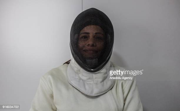 Olga Lucia Cardenas from Bogota who is part of the wheelchair fencing team Archangeles a group who deals with social inclusion and the rights of...