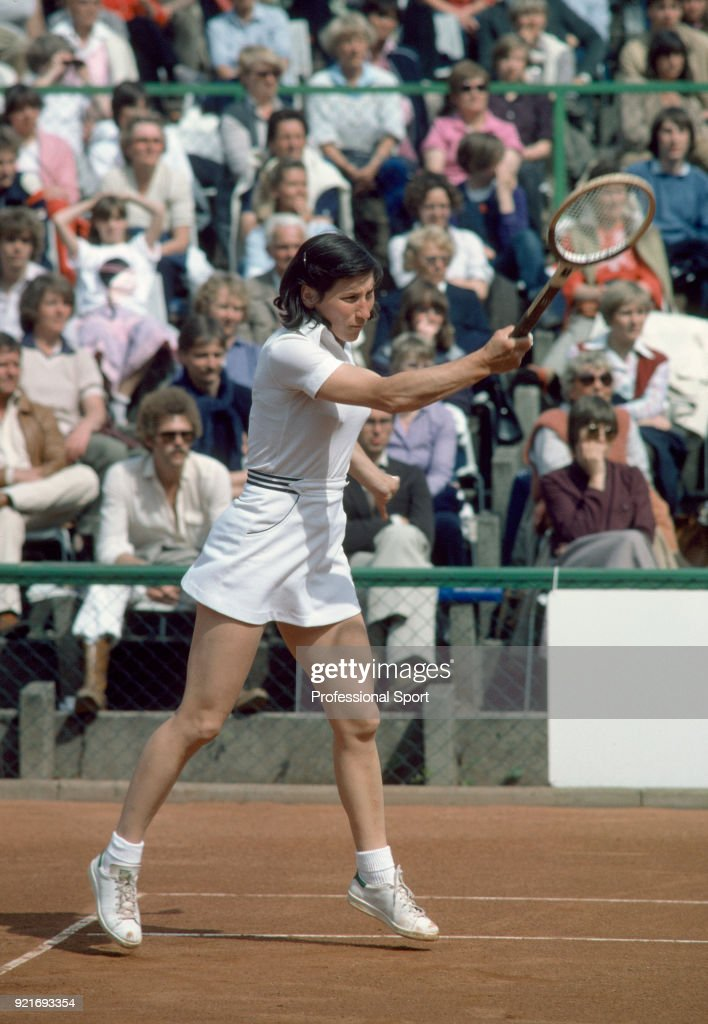 Olga Morozova of the Soviet Union in action, circa June 1980.