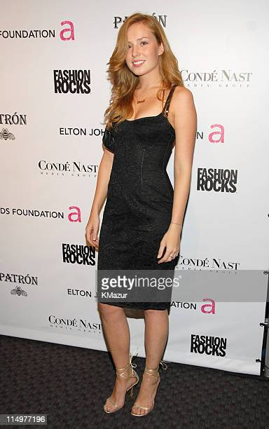 Olga Nemcova at Conde Nast Media Group presents Elton John and the debut of his new album 'The Captain The Kid' at the official Fashion Rocks'...