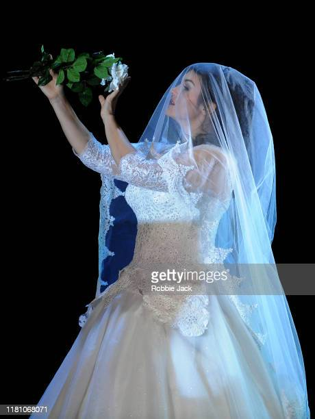 Olga Peretyatko as Norina in Gaetano Donizetti's Don Pasquale directed by Damiano Michieletto and conducted by Evelino Pido at The Royal Opera House...