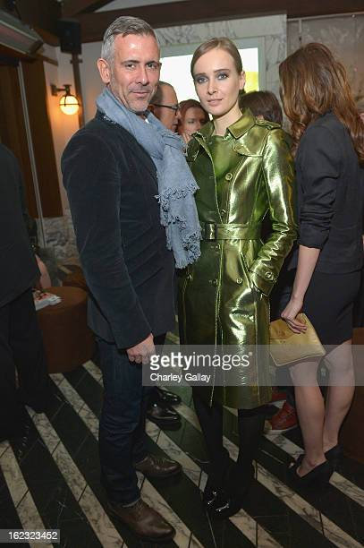 "Olga Sorokina attends Vanity Fair and the Fiat brand Celebration of ""Una Notte Verde"" with Hans Zimmer and Ron Howard in support of The United..."