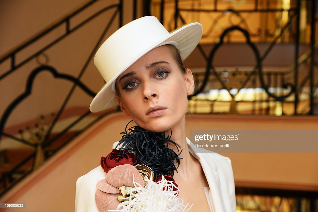 Olga Sorokina At The Hotel Martinez And At The Croisette - The 66th Annual Cannes Film Festival