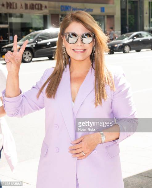 Olga Tanon attends Univision's Reina de la Cancion Auditions at Westin Grand Central on June 15 2019 in New York City