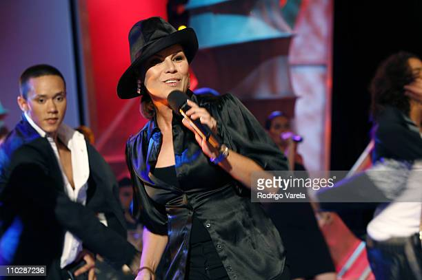 Olga Tanon during 20Year Anniversary Program of Sabado Gigante at Univision Studios in Miami Florida United States