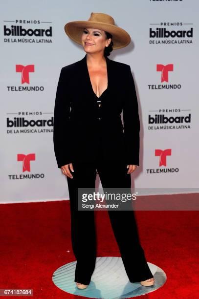 Olga Tañon attends the Billboard Latin Music Awards at Watsco Center on April 27 2017 in Coral Gables Florida
