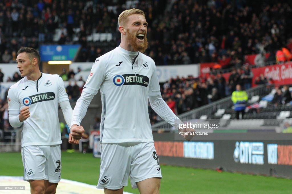 Swansea City v Reading - Sky Bet Championship : News Photo