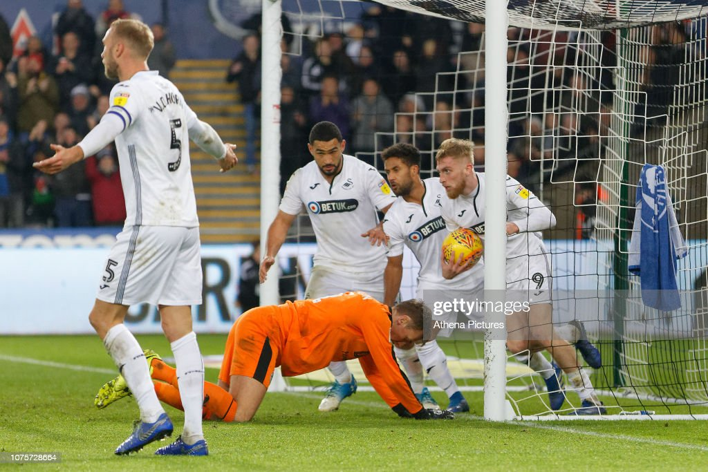 Swansea City v Wigan Athletic - Sky Bet Championship : News Photo