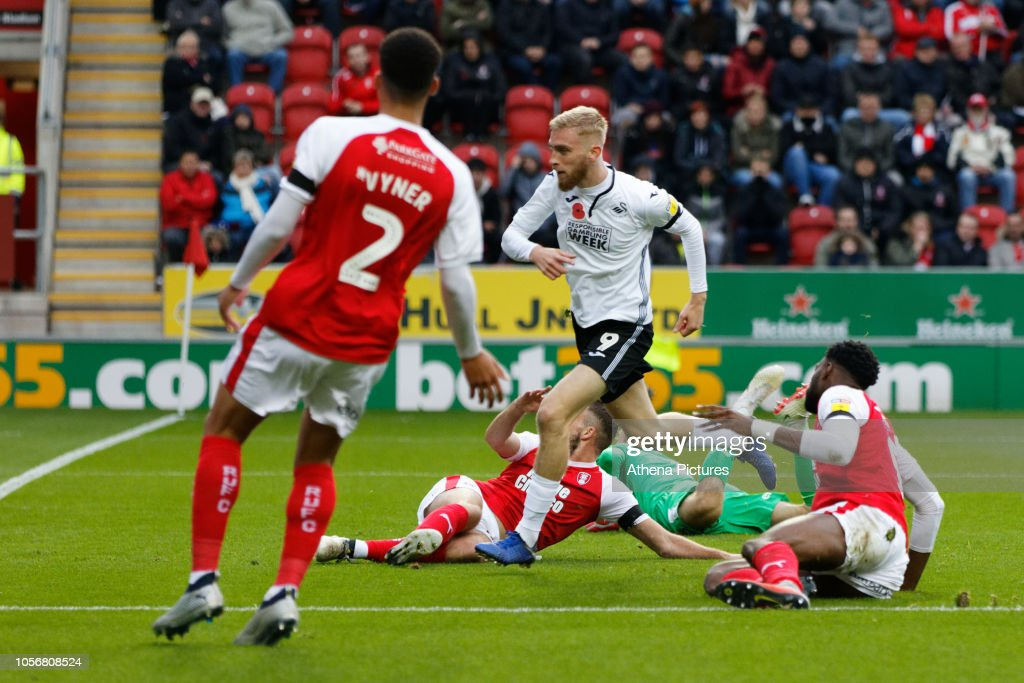Rotherham United v Swansea City - Sky Bet Championship : News Photo