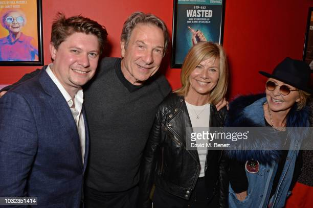 Oli Sones Michael Brandon Glynis Barber and Lulu attend the press night after party for Wasted at the Southwark Playhouse on September 12 2018 in...