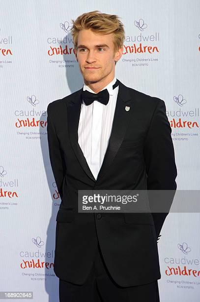 Oli Webb attends The Butterfly Ball A Sensory Experience in aid of the Caudwell Children's charity at Battersea Evolution on May 16 2013 in London...