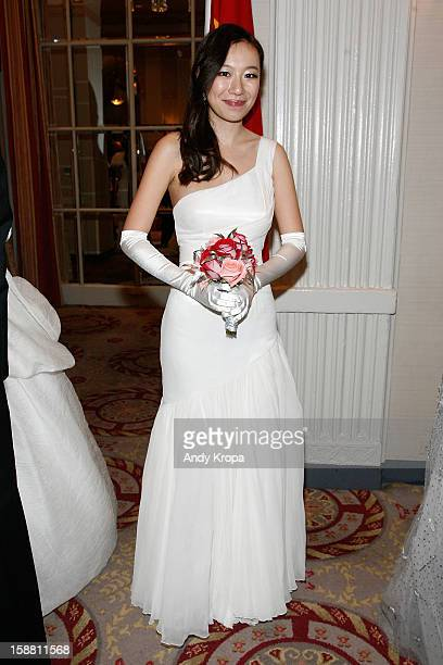 Olia Lau attends The 58th International Debutante Ball at The WaldorfAstoria on December 29 2012 in New York City