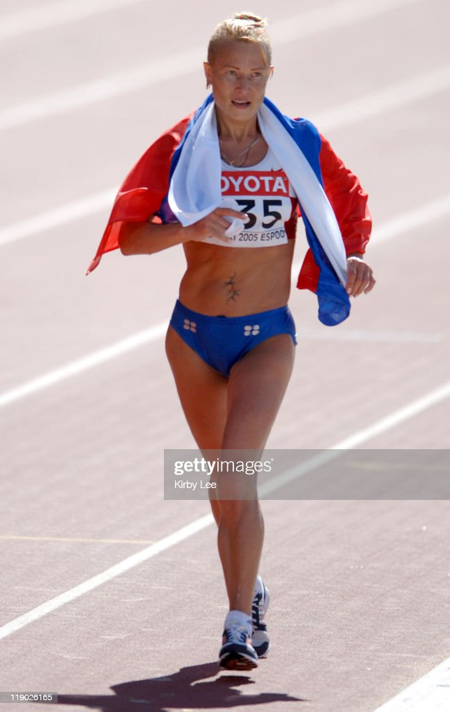 2005 IAAF World Championships in Athletics - Women's 20km Race Walk - August 7,