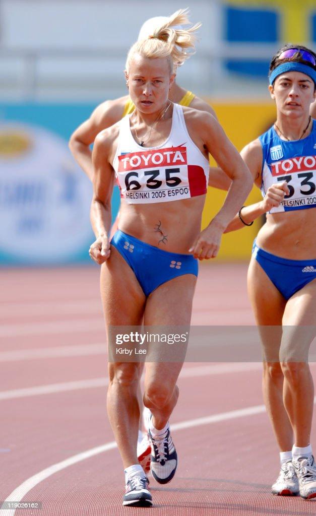 2005 IAAF World Championships in Athletics - Women's 20km Race Walk - August 7,