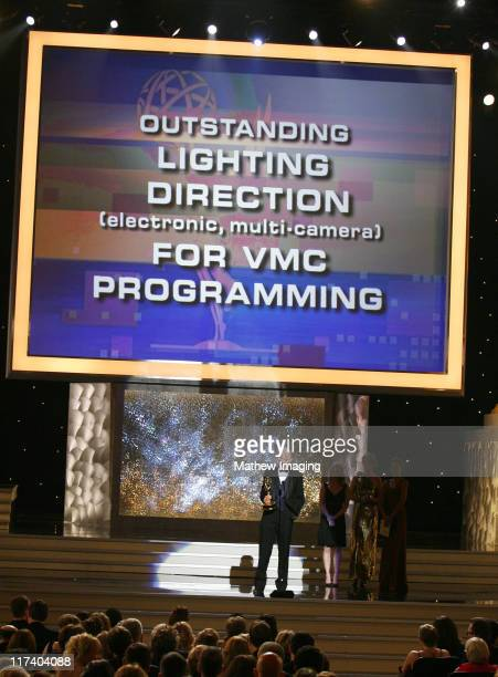 Olin Younger winner Outstanding Lighting Direction For VMC Programming for '2005 American Music Awards'