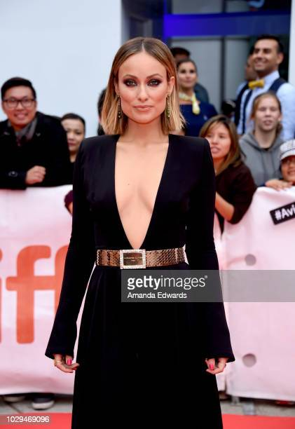 Oliva Wilde attends the Life Itself premiere during 2018 Toronto International Film Festival at Roy Thomson Hall on September 8 2018 in Toronto Canada